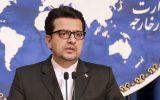 سخنگوی وزارت امور خارجه: زمینه بازگشت هفت خدمه کشتی توقیف شده انگلیسی به کشورشان فراهم شده است